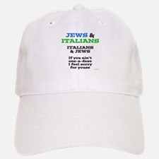 Jews and Italians Baseball Baseball Cap