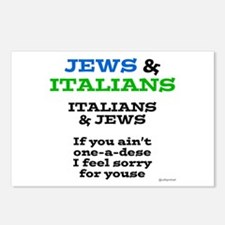 Jews and Italians Postcards (Package of 8)