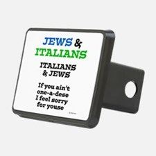 Jews and Italians Hitch Cover