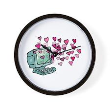 Virtual Love Wall Clock