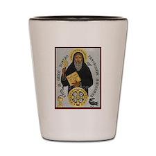 Saint Benedict Shot Glass