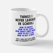 Things I never learned in school Mug