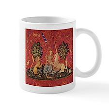 Lady and Unicorn Sight Mugs