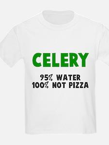 Celery 100% not pizza T-Shirt