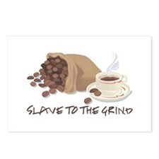 Slave to the Grind Postcards (Package of 8)