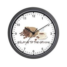 Slave to the Grind Wall Clock
