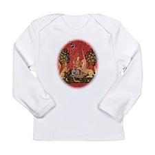 Lady and Unicorn Sight Long Sleeve T-Shirt