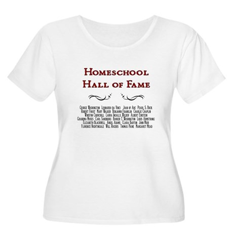 Hall of Fame Women's Plus Size Scoop Neck T-Shirt
