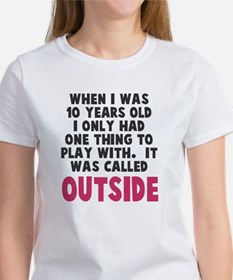 It was called outside Tee