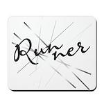 Abstract Runner Mousepad