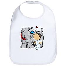 Bulldog Kiss Bib