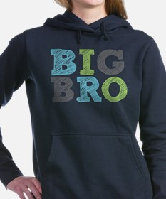 Sketch Style Big Bro Hooded Sweatshirt