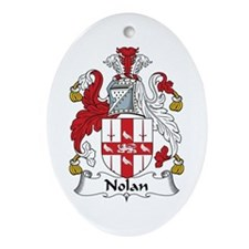 Nolan Oval Ornament