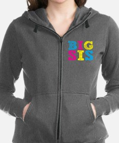 Multi-Colored Big Sis Zip Hoodie