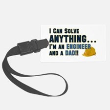 Engineer Dad Luggage Tag