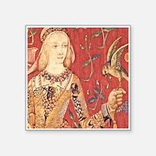 My Lady Hawk Sticker