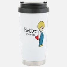 Couple Shirt Travel Mug