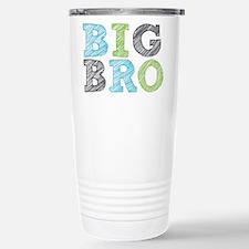 Sketch Style Big Bro Stainless Steel Travel Mug