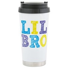 Sketch Lil Bro Travel Coffee Mug