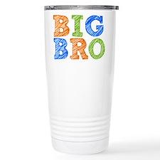 Sketch Style Big Bro Travel Mug
