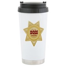 Little Sheriff Travel Mug