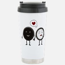 Cookie Love Stainless Steel Travel Mug