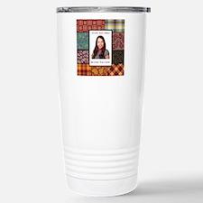 Personalized Scrapbook-Like Travel Mug