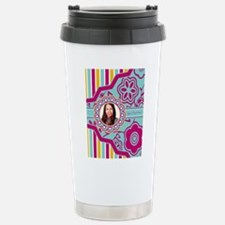 Add Text and Photo Stainless Steel Travel Mug