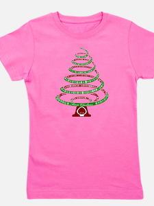 Christmas Tree Girl's Tee