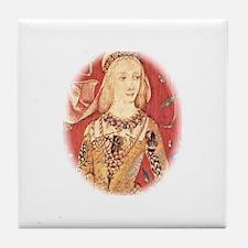 My Lady Hawk Tile Coaster