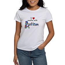 I love someone w/ Autism T-Shirt