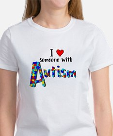 I love someone w/ Autism T-Shirt