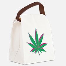 potleaf trippy Canvas Lunch Bag