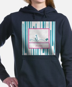 Custom Monogram Butterfly Hooded Sweatshirt