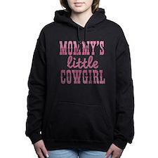 Mommys Little Cowgirl Hooded Sweatshirt