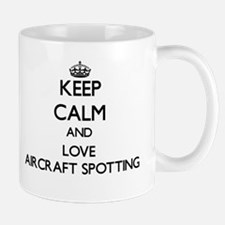 Keep calm and love Aircraft Spotting Mugs
