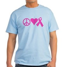 Peace Love Tatas T-Shirt