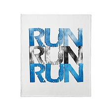 RUN x 3 Throw Blanket