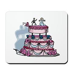 The Wedding Cake Mousepad