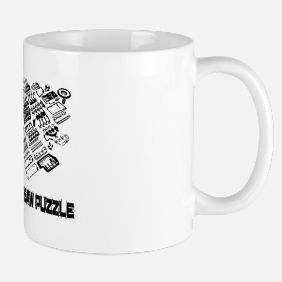 Real Mans Puzzle-Small Block V8 Mug