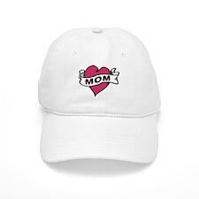 Mom Heart Tattoo Baseball Cap