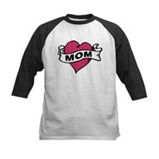 Mom Heart Tattoo Tee