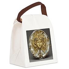 Medusa Metalwork Canvas Lunch Bag