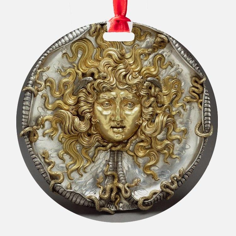 Medusa Metalwork Ornament