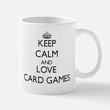 Keep calm and love Card Games Mugs