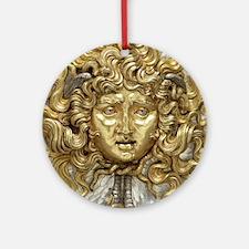 Medusa Round Ornament