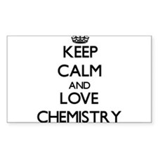 Keep calm and love Chemistry Decal