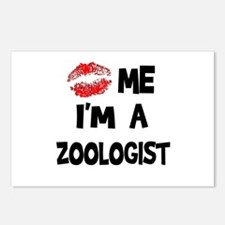 Kiss Me I'm A Zoologist Postcards (Package of 8)