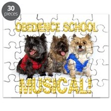 Cairn Terrier Obedience School Puzzle