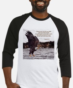 ISAIAH 40:31 WINGED EAGLES Baseball Jersey